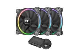 مجموعه سه عددی فن ترمالتیک مدل Riing 14 RGB TT Premium Edition
