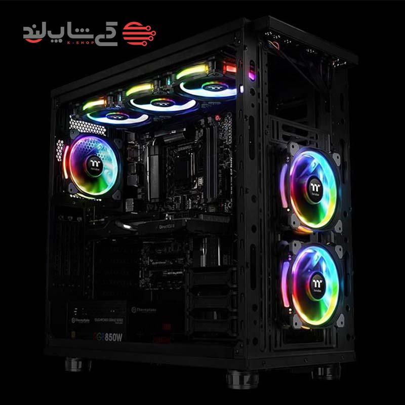 مجموعه سه عددی فن ترمالتیک مدل Riing 14 RGB TT Premium Edition-5