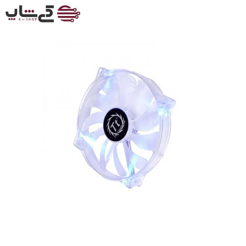 فن ترمالتیک آبی رنگ مدل Pure 20 LED 200mm