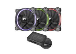 پک سه تایی فن ترمالتیک مدل Riing 14 RGB TT 140mm