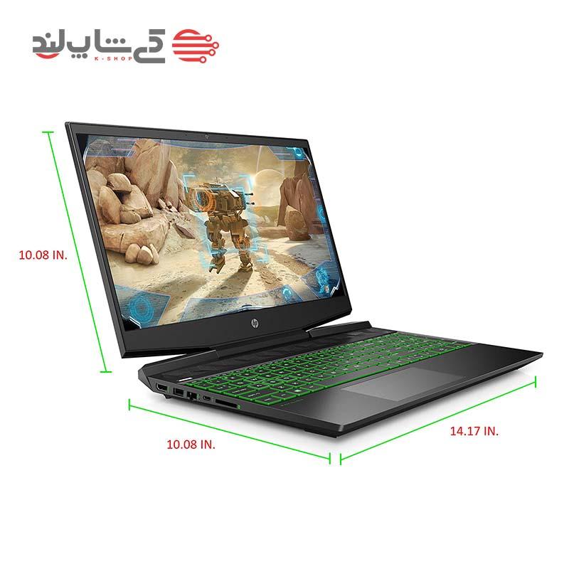 لپ تاپ اچ پی مدل HP Pavilion Gaming DK0056WM-1