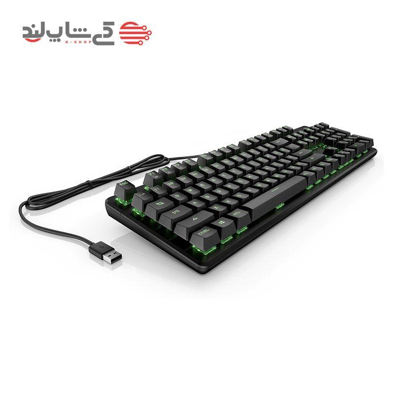 کیبورد اچ پی مدل HP Pavilion Gaming Keyboard 500-0