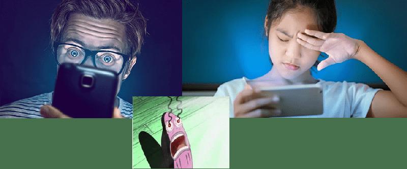 نور موبایل برای چشمان ضرر دارد