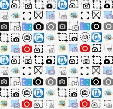 انواع آیکون و نمادهای اسکرین شات