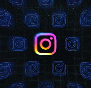 لوگو اینستاگرام برای مقاله الگوریتم